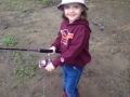 Little girl with fishing rod 2015